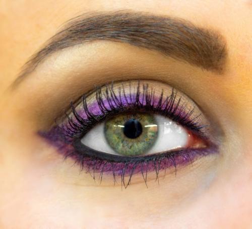 2016 08 03 - Purple Eyeliner