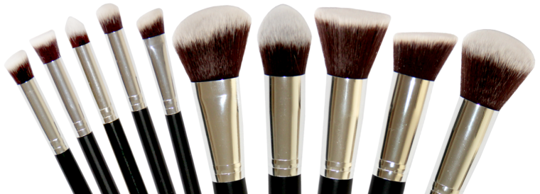 makeup brushes cropped