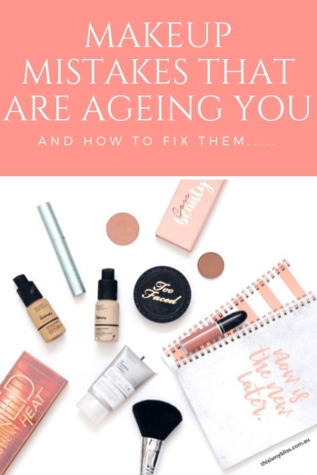 Makeup Mistakes That are Ageing you