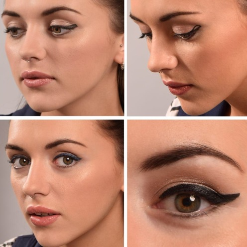 How to create Winged Eyeliner by Claire Murray