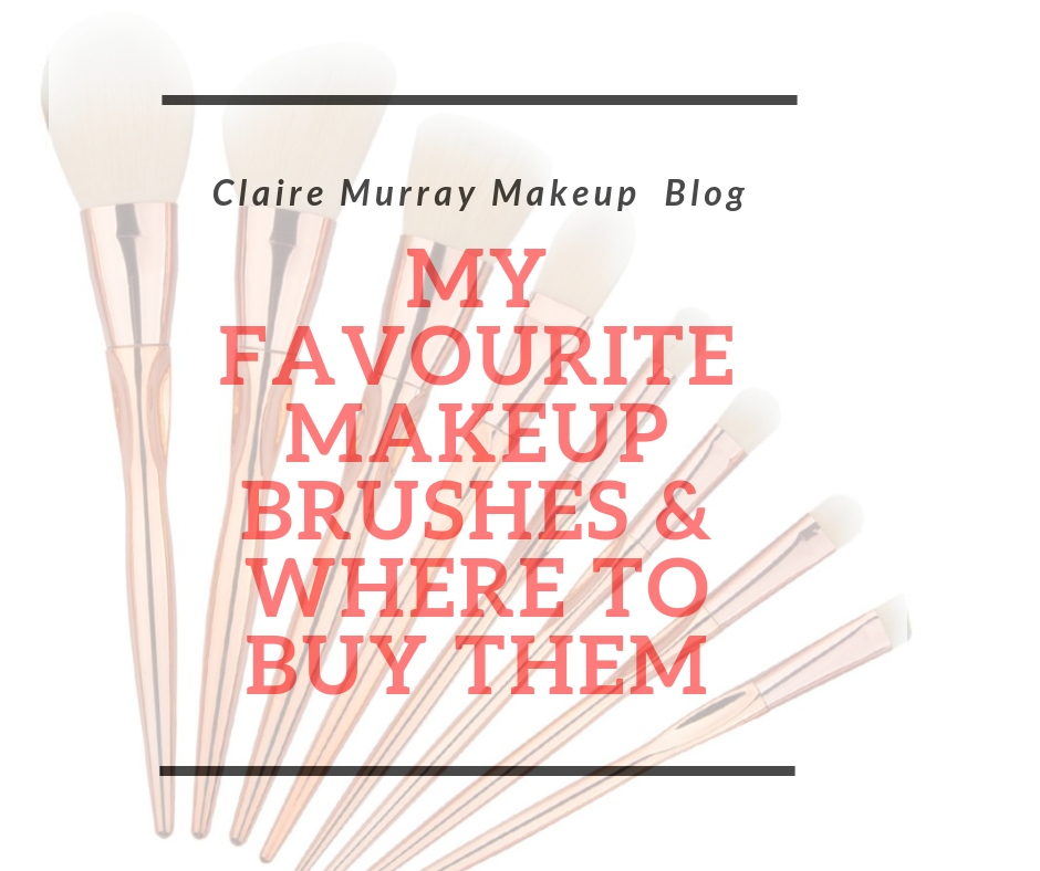 My everyday makeup brushes & where to buy them